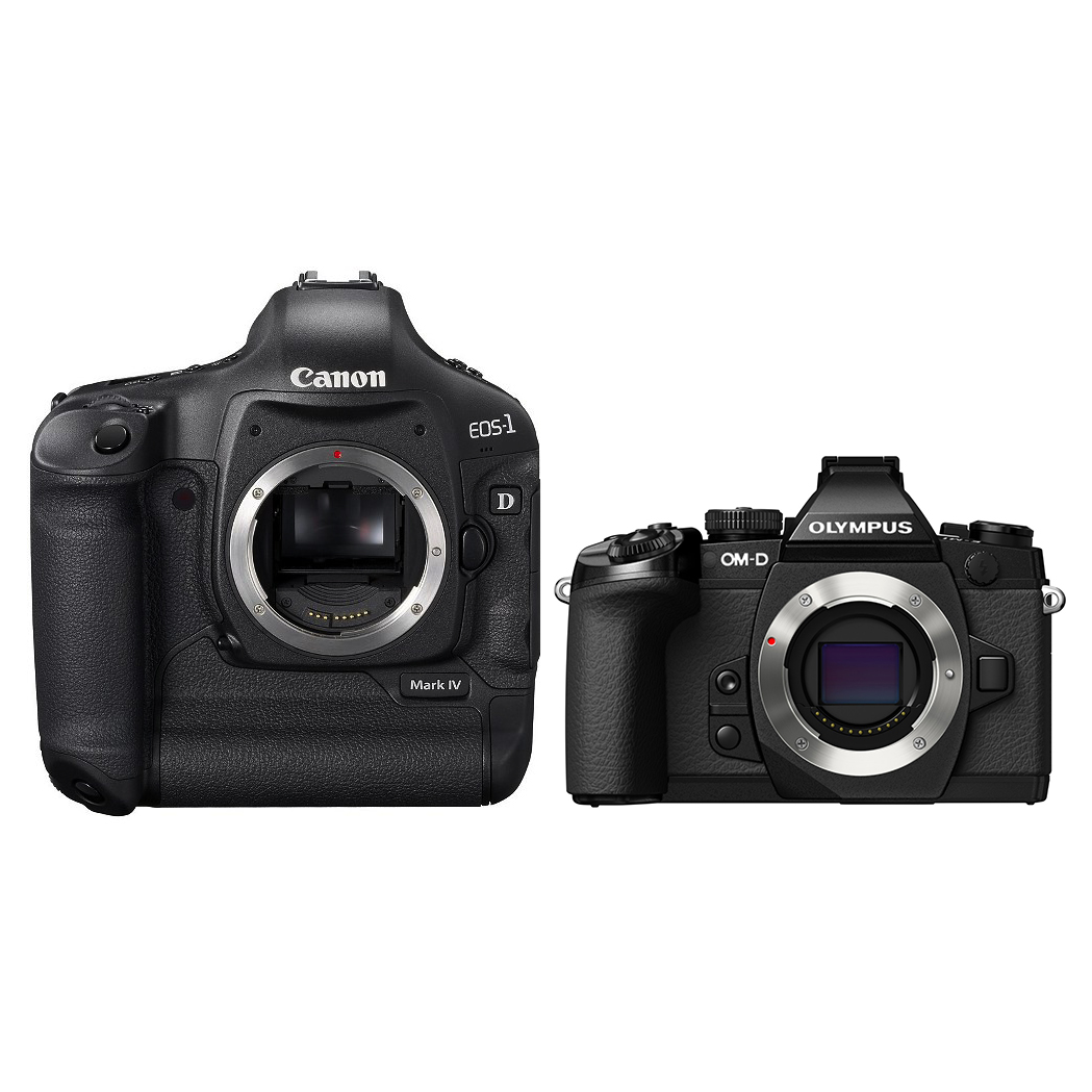 Canon 1D Mk IV vs Olympus E-M1 - Chris Eyre-Walker Photography
