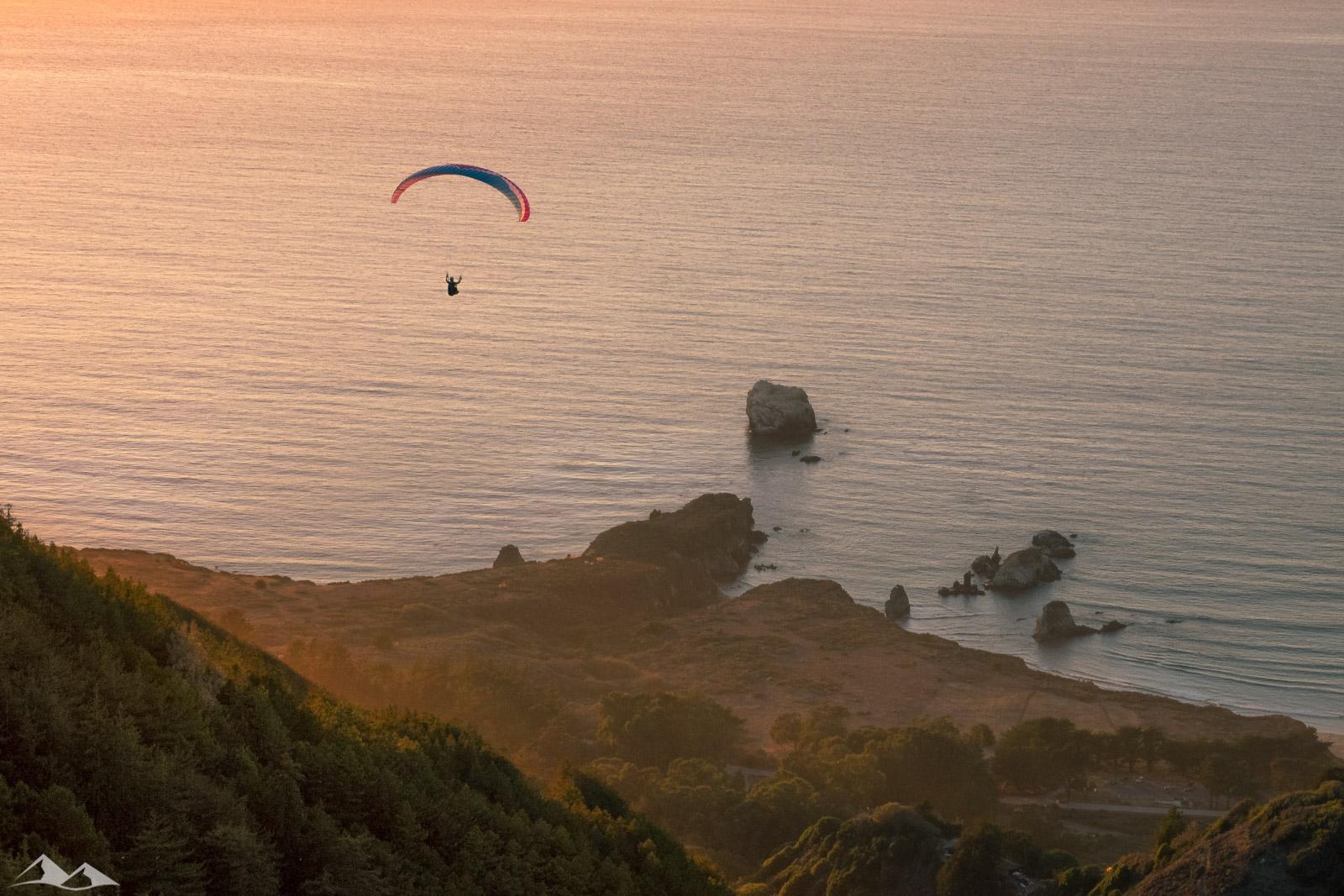 Paragliding Big Sur