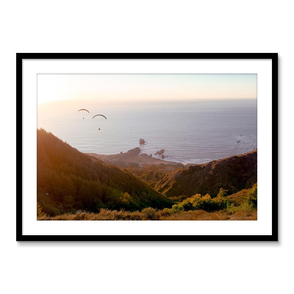 Paragliding In Big Sur