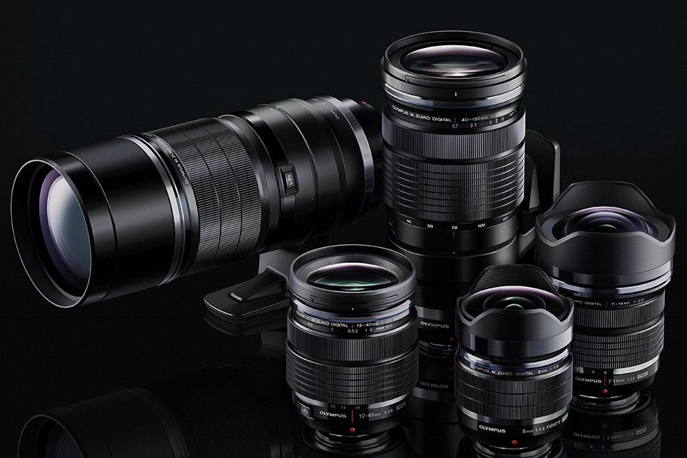 Olympus M.Zuiko PRO lens lineup