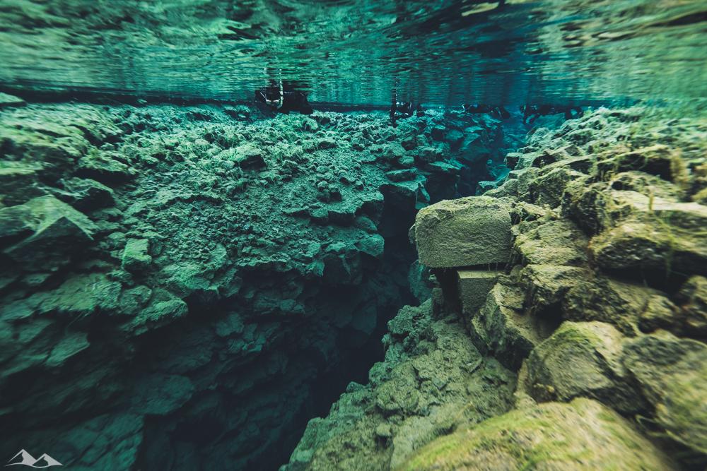 Snorkelling Silfra Gap