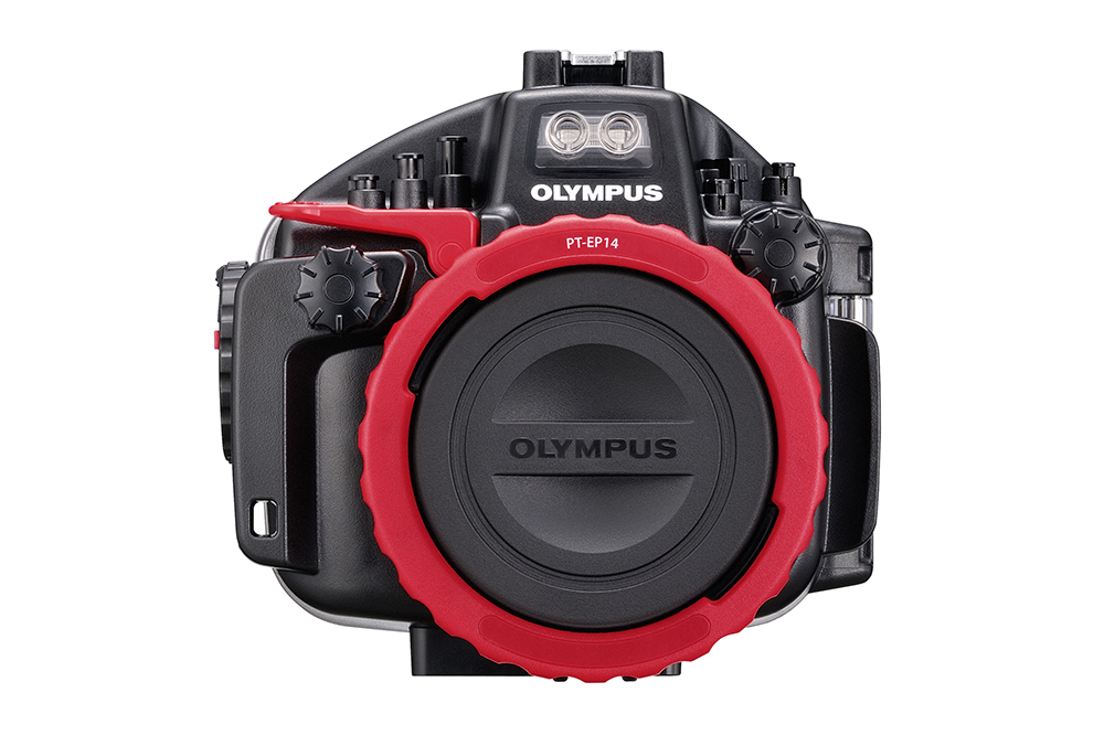 Olympus OM-D E-M1 Mark II PT-EP14 housing front