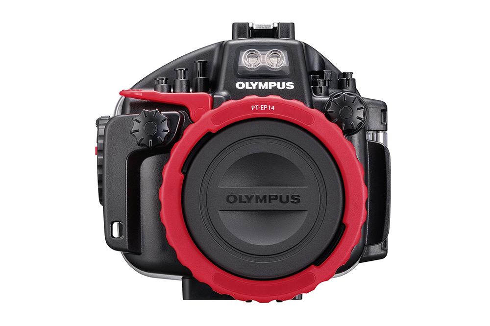 Olympus OM-D E-M1 Mark II PT-EP14 housing front