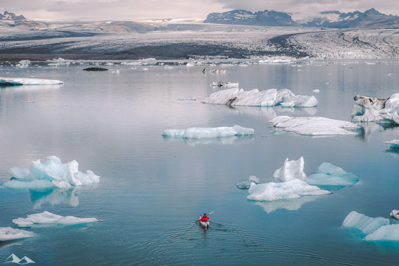 Kayaking Iceland