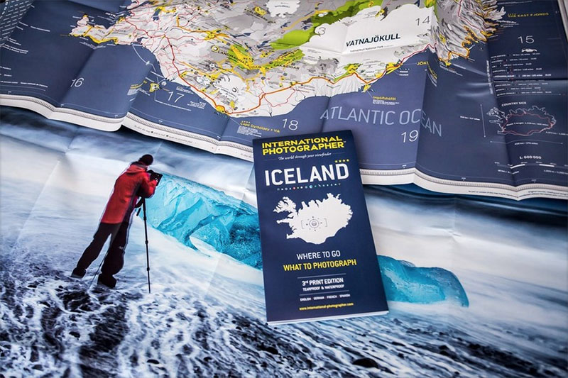 International Photographer Iceland Map and Roadbook