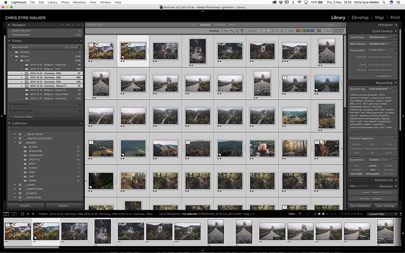 Lightroom Catalogue