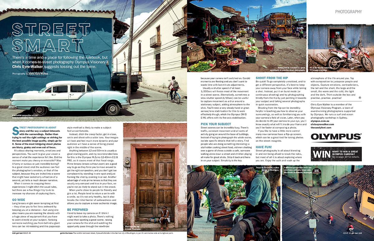 GetLost issue 49 Photography Tips by Chris Eyre-Walker