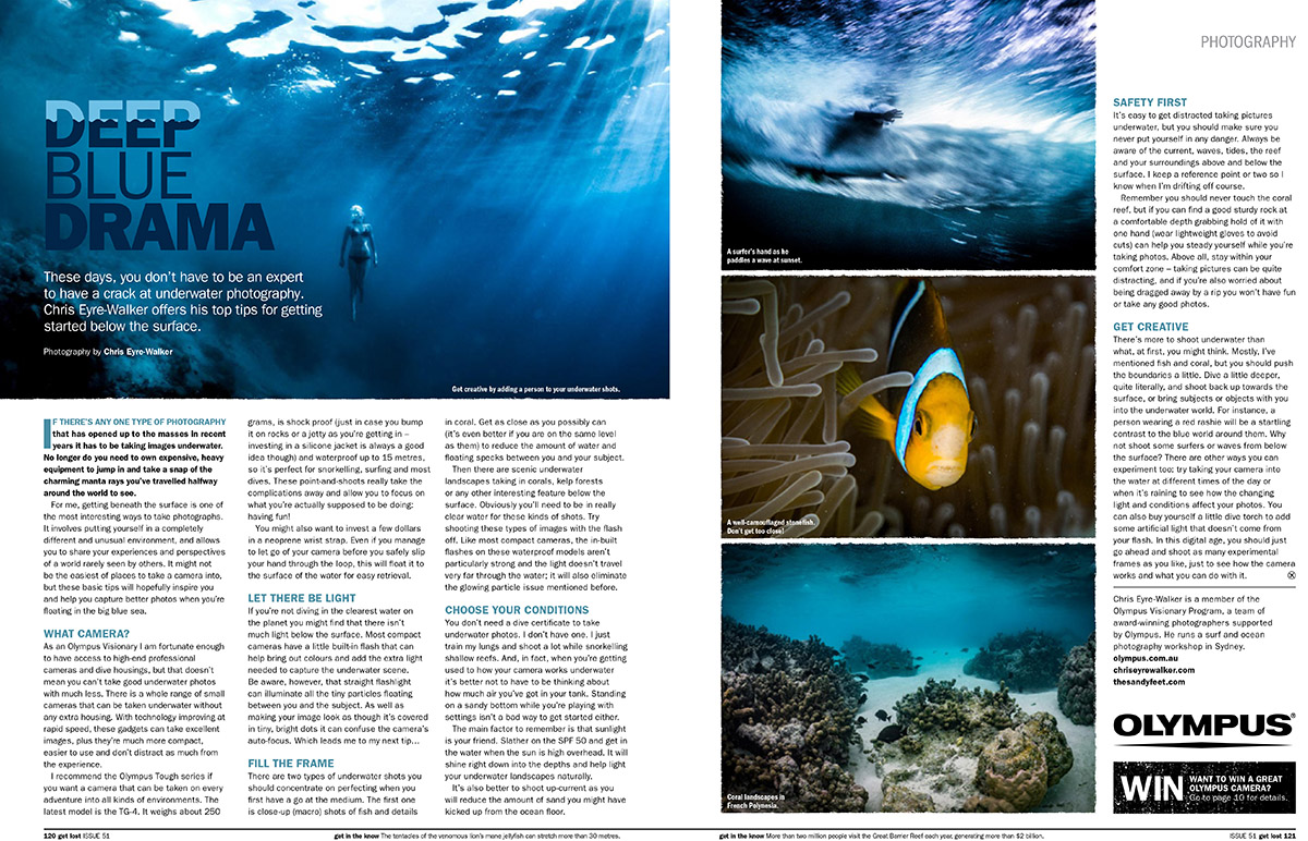 GetLost issue 51 Photography Tips by Chris Eyre-Walker