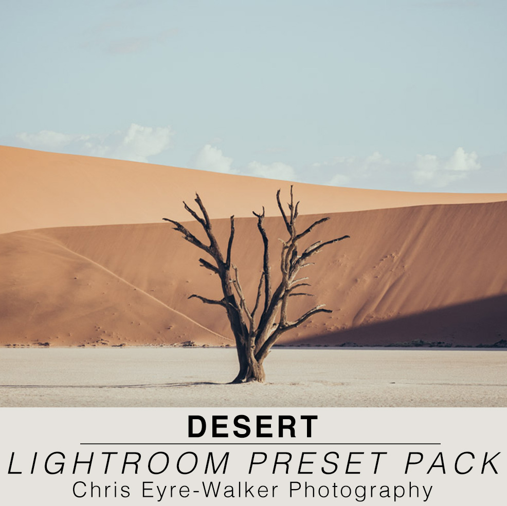 Desert Photography Lightroom Preset Pack by Chris Eyre-Walker