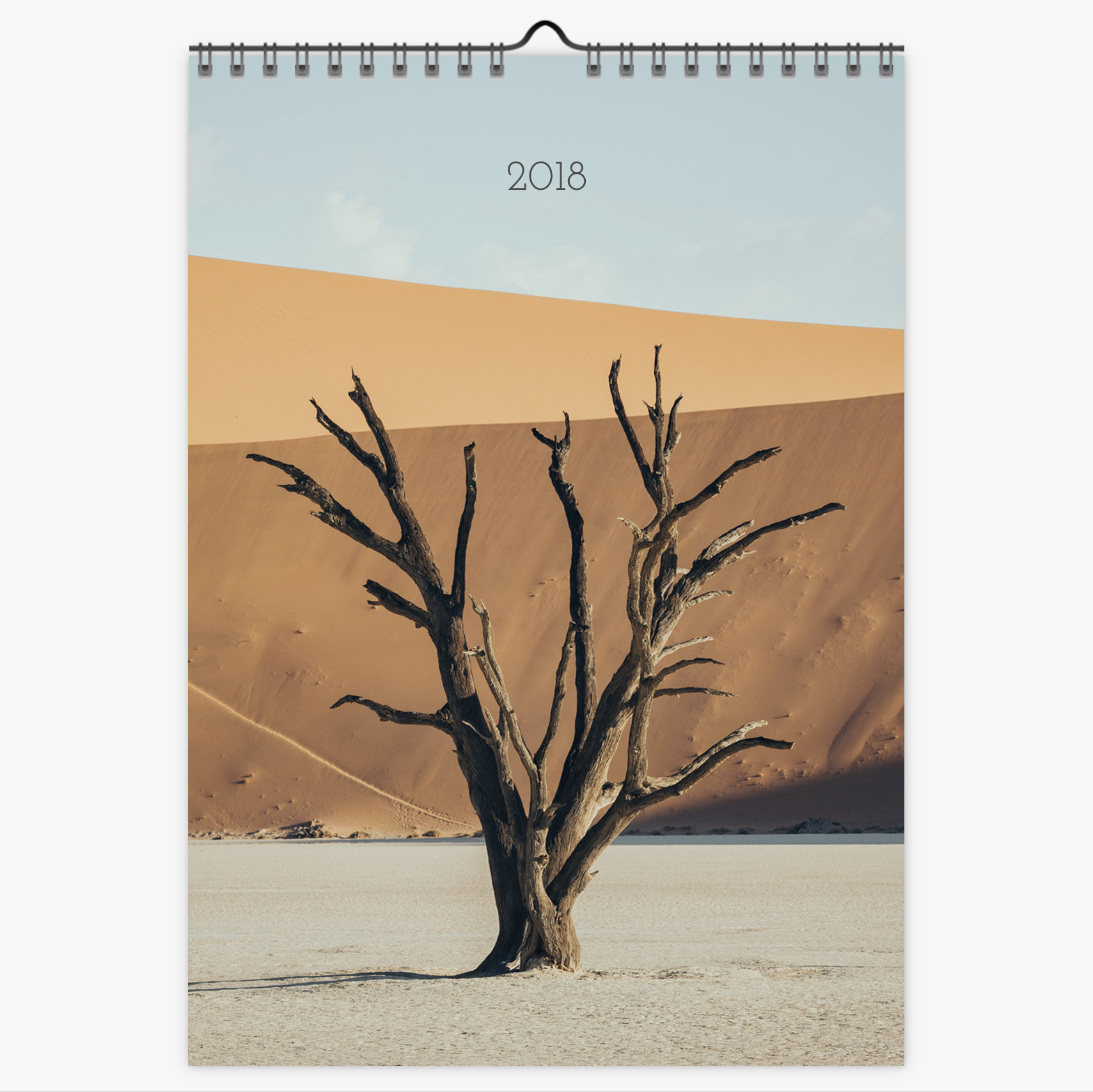 Chris Eyre-Walker Photography 2018 Calendar Cover