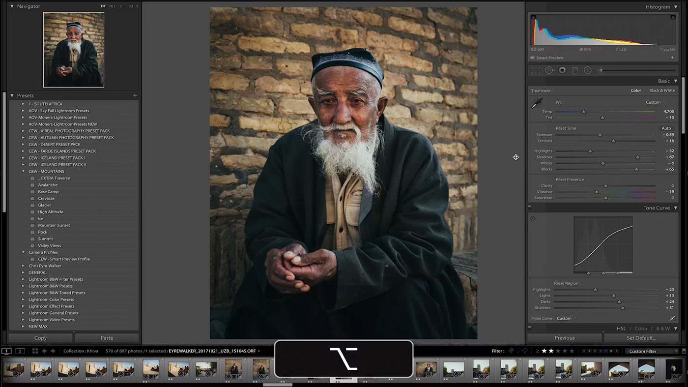 10 Lightroom Hacks You Probably Didn't Know - Hold ALT / OPTION to drag panels out even further